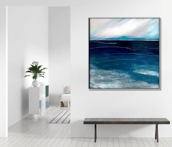 Abstract seascapes original paintings