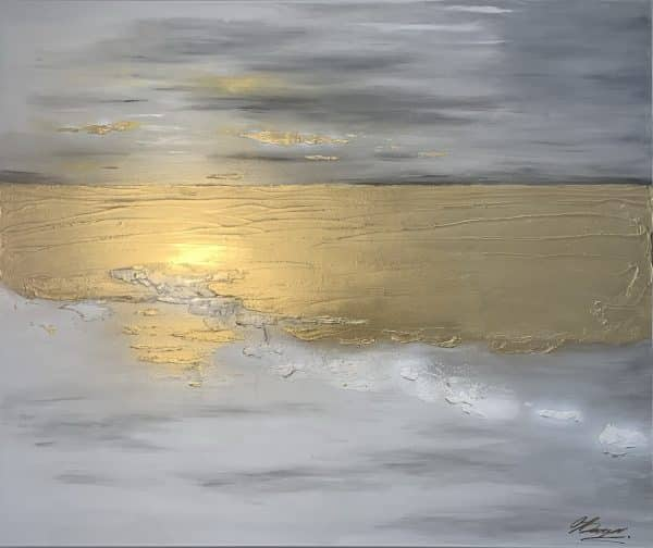 sea abstract painting